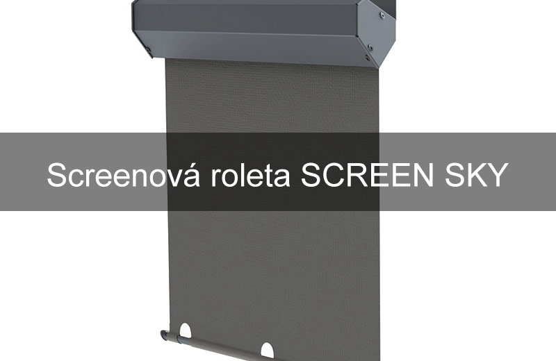 Screenová roleta SCREEN SKY